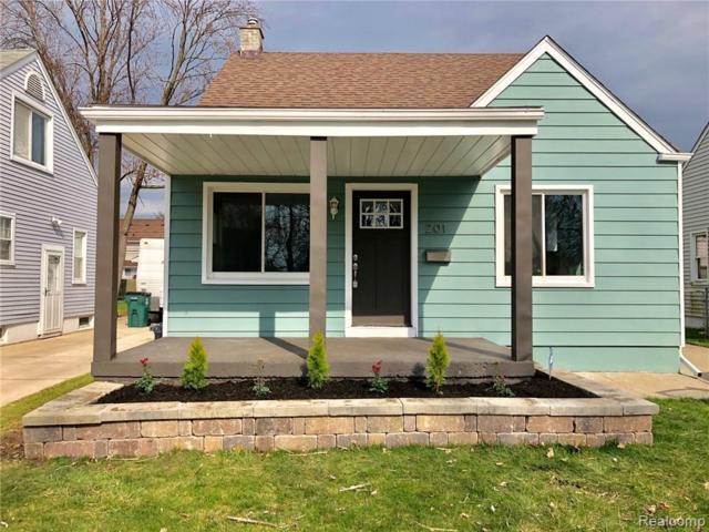 201 S Minerva Avenue, Royal Oak, MI 48067 (#219034297) :: The Buckley Jolley Real Estate Team