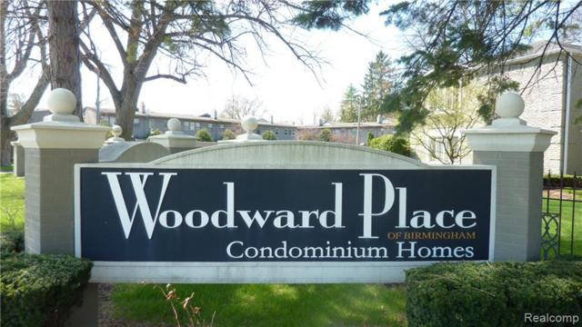 1113 N Old Woodward Avenue #30, Birmingham, MI 48009 (#219034428) :: Keller Williams West Bloomfield