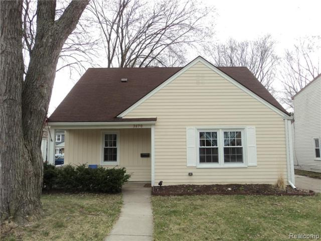 3670 Griffith Avenue, Berkley, MI 48072 (#219034755) :: Alan Brown Group