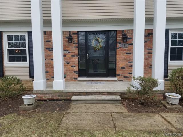 4021 Hardwoods Drive, West Bloomfield Twp, MI 48323 (#219035129) :: RE/MAX Nexus