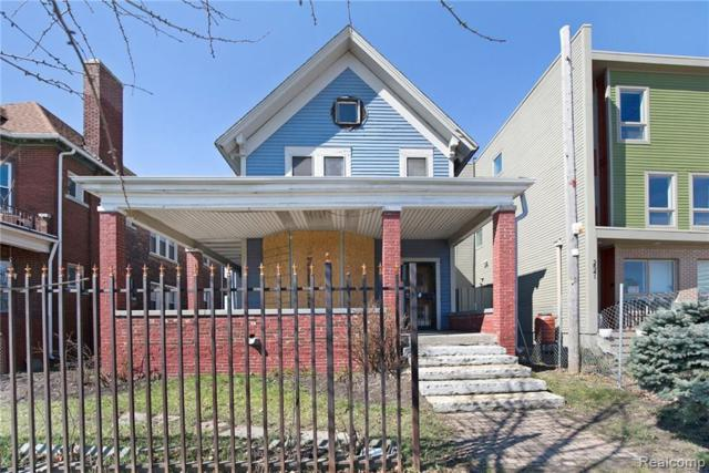 2537 Trumbull Avenue, Detroit, MI 48216 (#219035226) :: The Buckley Jolley Real Estate Team