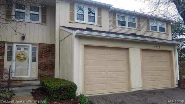 1716 Brentwood Drive, Troy, MI 48098 (#219035362) :: The Buckley Jolley Real Estate Team