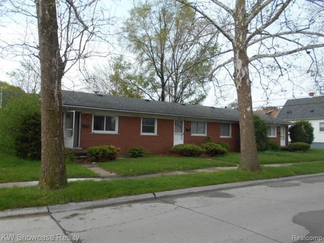 605 Davis Street, Wyandotte, MI 48192 (#219036197) :: The Buckley Jolley Real Estate Team