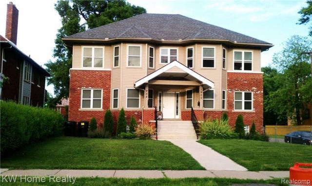 1900 W Grand Boulevard, Detroit, MI 48208 (#219036727) :: Keller Williams West Bloomfield