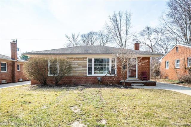 1722 Hazel Street, Birmingham, MI 48009 (#219036759) :: Keller Williams West Bloomfield