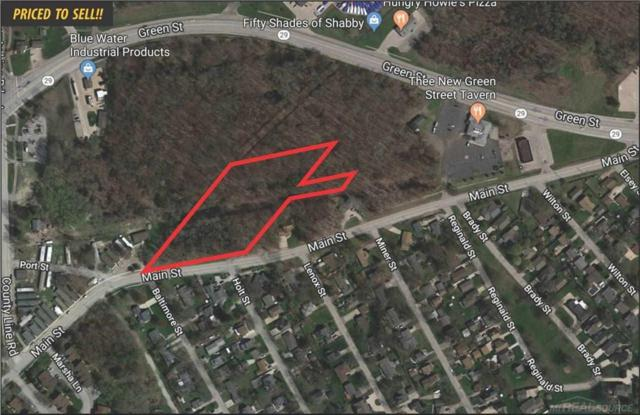 0 Main Street, New Baltimore, MI 48047 (#58031377476) :: The Alex Nugent Team | Real Estate One