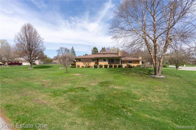 53512 Franklin Drive, Shelby Twp, MI 48316 (#219037019) :: The Mulvihill Group
