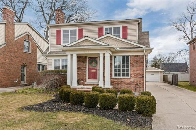 1927 Maryland Boulevard, Birmingham, MI 48009 (#219037284) :: Keller Williams West Bloomfield