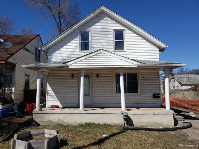 1211 E Muir Avenue, Hazel Park, MI 48030 (#219039393) :: The Alex Nugent Team   Real Estate One
