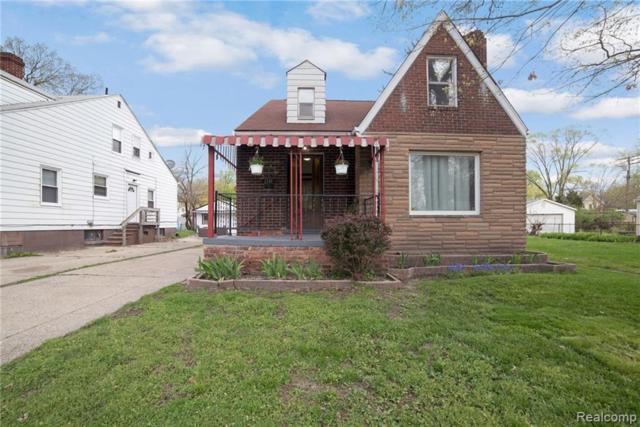 1141 E George Avenue, Hazel Park, MI 48030 (#219040677) :: The Alex Nugent Team   Real Estate One