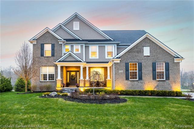 22784 Shepherds Hollow Drive, Lyon Twp, MI 48178 (#219040736) :: The Buckley Jolley Real Estate Team