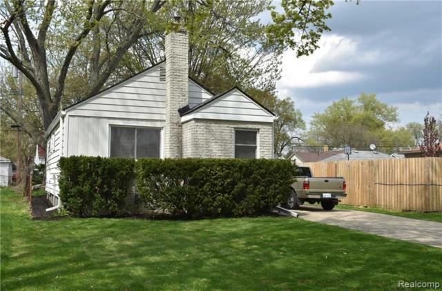 1737 E Harry Avenue, Hazel Park, MI 48030 (#219041230) :: RE/MAX Classic