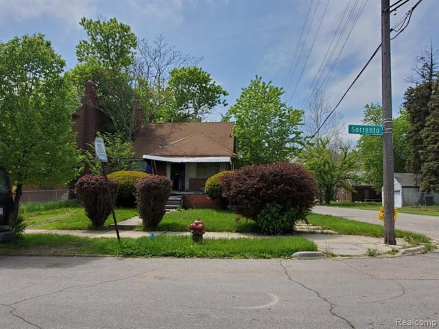 9663 Sorrento Street, Detroit, MI 48227 (MLS #219041510) :: The Toth Team
