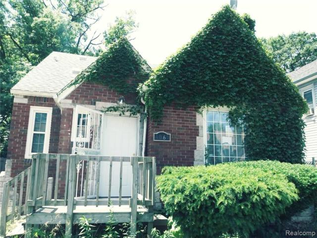 4861 Courville Street, Detroit, MI 48224 (MLS #219041561) :: The Toth Team