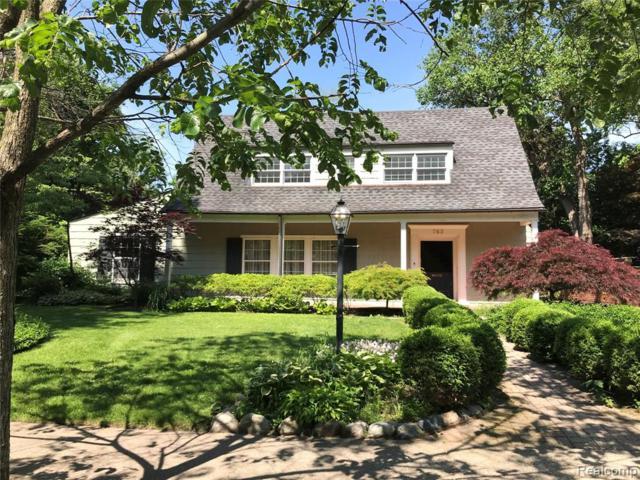 763 Pilgrim Avenue, Birmingham, MI 48009 (#219041668) :: The Buckley Jolley Real Estate Team