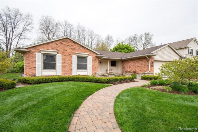 46184 Rockledge Drive, Plymouth Twp, MI 48170 (#219041828) :: GK Real Estate Team