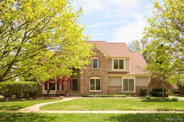 48057 Red Run Drive, Canton Twp, MI 48187 (MLS #219041868) :: The Toth Team