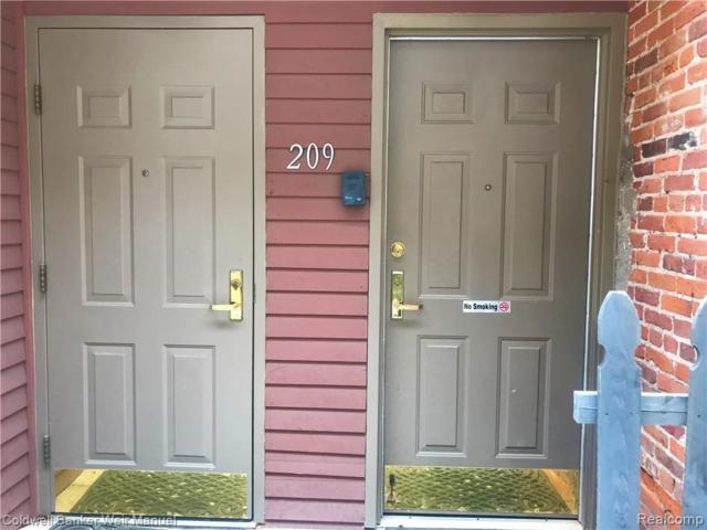 209 N Main Street, Ann Arbor, MI 48104 (MLS #219042819) :: The Toth Team