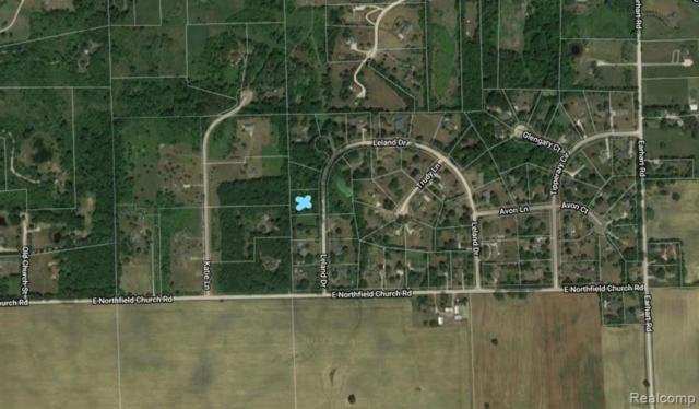 5747 Leland Drive, Northfield Twp, MI 48105 (MLS #219042946) :: The Toth Team