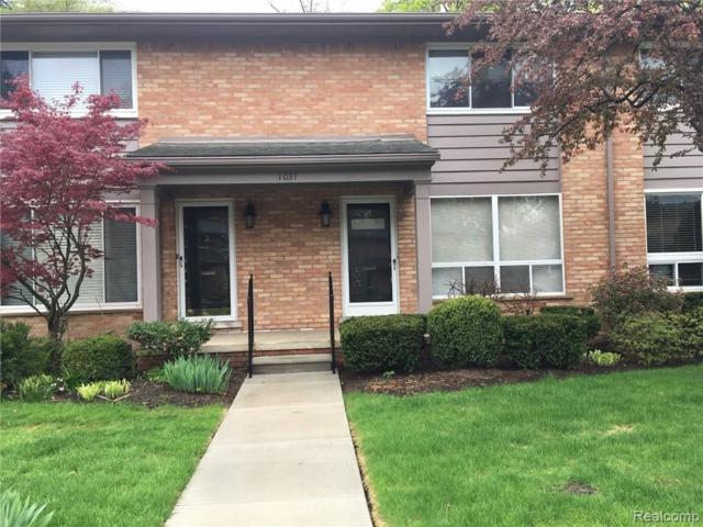 1037 N Old Woodward Ave Number 3 #10, Birmingham, MI 48009 (#219042965) :: The Buckley Jolley Real Estate Team