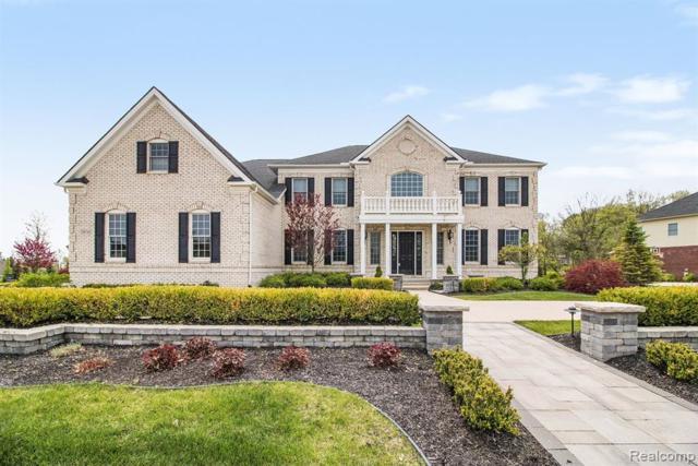 50745 Briar Ridge Lane, Northville Twp, MI 48168 (#219043325) :: GK Real Estate Team