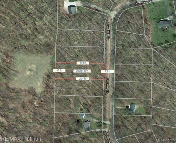 Lot 537 Crestview Circle, Star Twp, MI 49730 (#219043786) :: The Buckley Jolley Real Estate Team