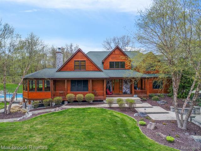 1300 Grace Lane, Milford Twp, MI 48380 (MLS #219043917) :: The Toth Team