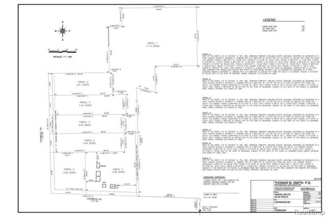 557 Lockwood Parcel 4 Road, Brandon Twp, MI 48462 (#219044670) :: RE/MAX Classic