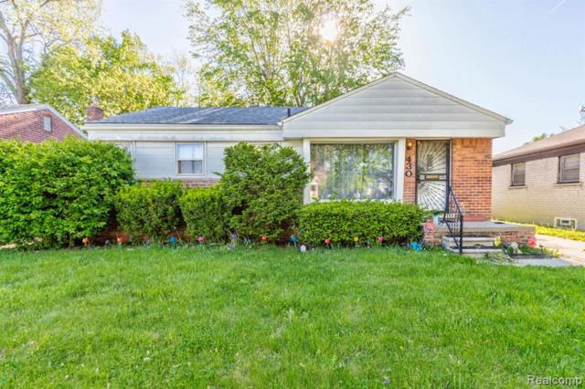 430 Central Street, Inkster, MI 48141 (#219045004) :: The Buckley Jolley Real Estate Team