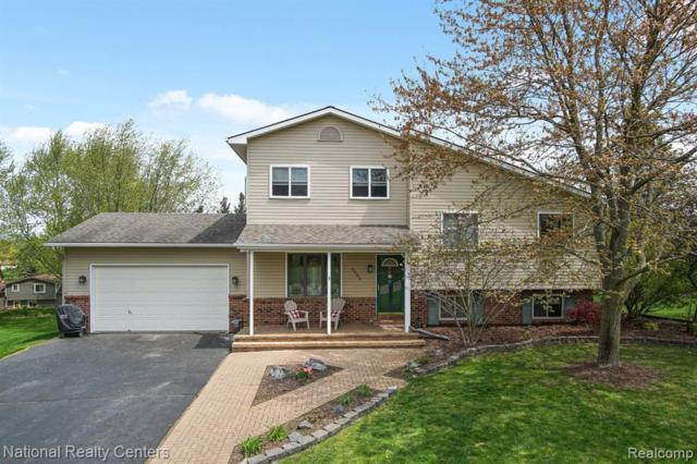 4588 Mountain View Trail, Independence Twp, MI 48348 (MLS #219045124) :: The Toth Team