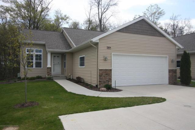 201 Barrington Circle #63, Delta Twp, MI 48917 (MLS #630000236546) :: The Toth Team