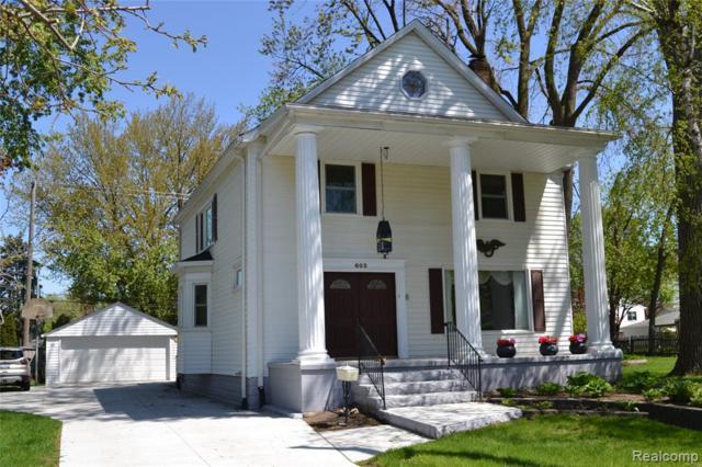 603 Midland Boulevard, Royal Oak, MI 48073 (#219045555) :: RE/MAX Classic