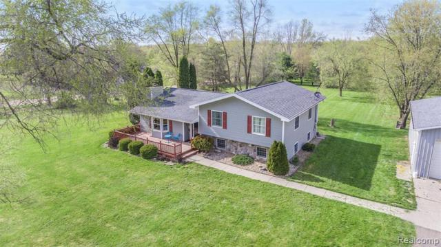 9015 Hogan Road, Tyrone Twp, MI 48430 (MLS #219045664) :: The Toth Team