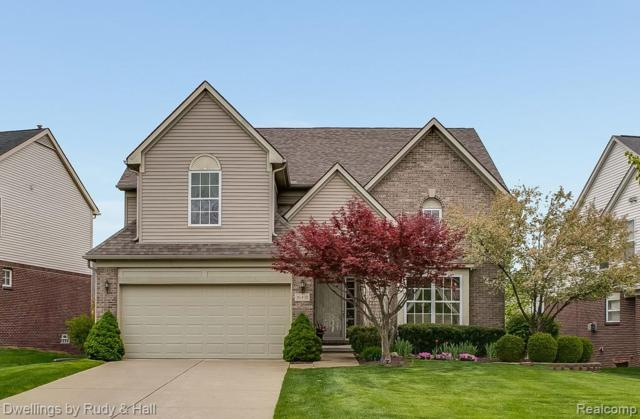 16401 Mulberry Way, Northville Twp, MI 48168 (#219045935) :: The Alex Nugent Team | Real Estate One