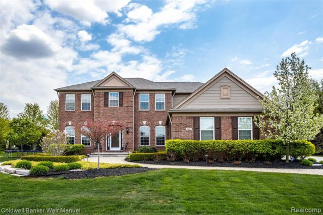 16090 Brook Trout Ln Lane, Northville, MI 48168 (MLS #219045978) :: The Toth Team