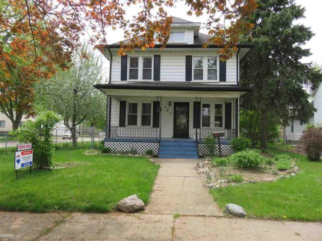 263 Euclid St, Mount Clemens, MI 48043 (MLS #58031380277) :: The Toth Team