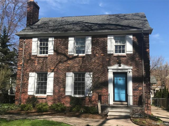 1362 Harvard Rd, Grosse Pointe, MI 48230 (MLS #219046645) :: The Toth Team