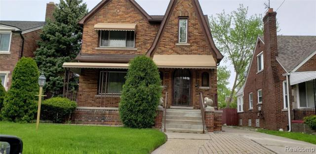 6028 Whittier Street, Detroit, MI 48224 (MLS #219046691) :: The Toth Team