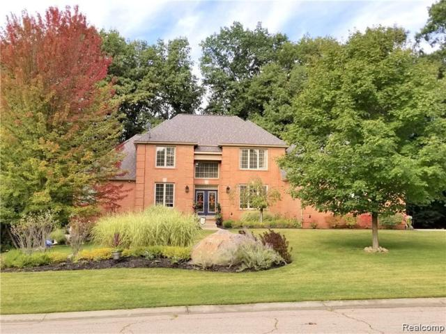 9051 Hunters Creek Drive, Independence Twp, MI 48348 (MLS #219046735) :: The Toth Team