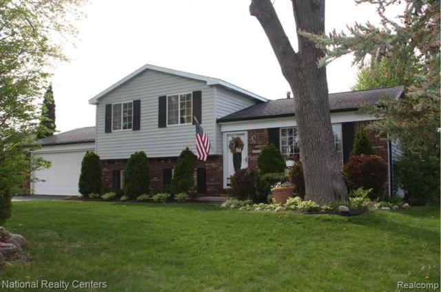 1256 Queens Drive, Oxford Twp, MI 48371 (#219046885) :: The Buckley Jolley Real Estate Team