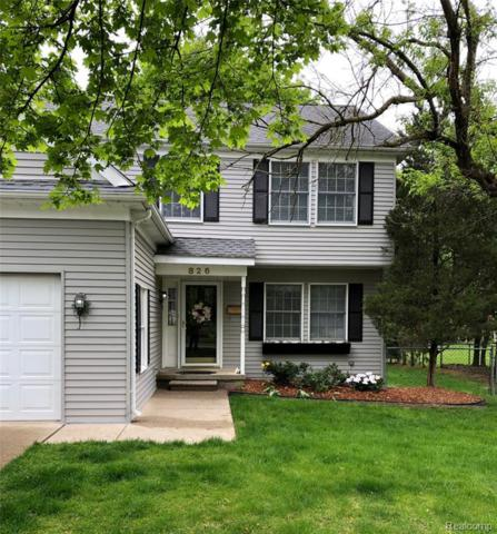 826 Miller Avenue, Rochester, MI 48307 (#219046891) :: The Alex Nugent Team | Real Estate One