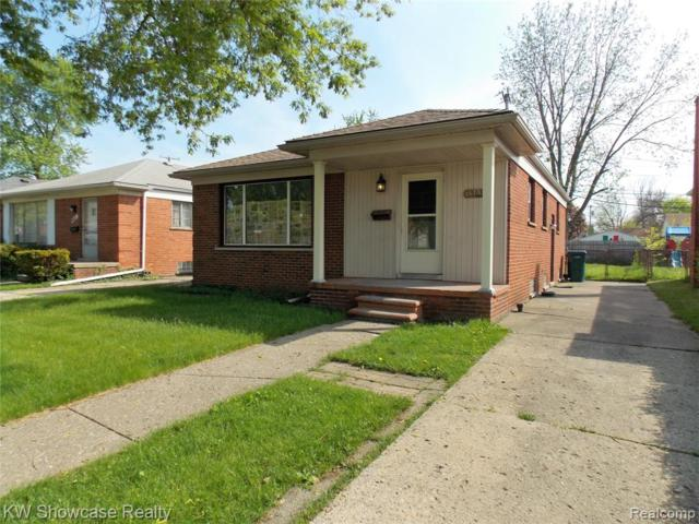 1563 Russell Avenue, Lincoln Park, MI 48146 (MLS #219047024) :: The Toth Team