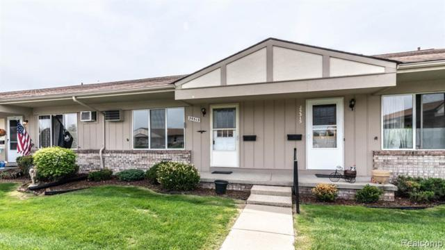 25313 Franklin Terrace #7, South Lyon, MI 48178 (#219047048) :: Duneske Real Estate Advisors