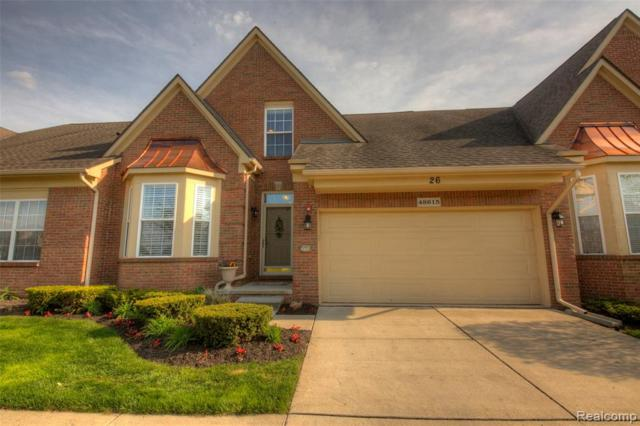 48615 Stonebriar Drive, Canton Twp, MI 48188 (MLS #219047063) :: The Toth Team
