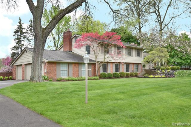 740 Satterlee Road, Bloomfield Twp, MI 48304 (#219047069) :: GK Real Estate Team