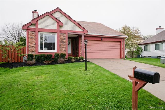 1628 Stonecrest Drive, Rochester Hills, MI 48307 (#219047123) :: The Alex Nugent Team | Real Estate One