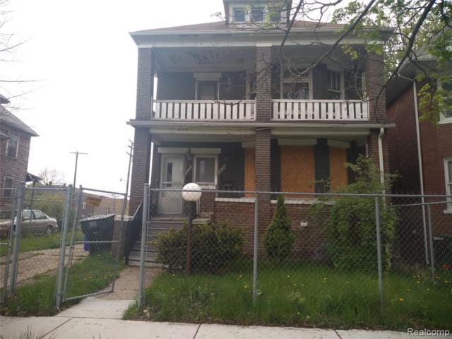 3021 Lothrop Street, Detroit, MI 48206 (MLS #219047138) :: The Toth Team