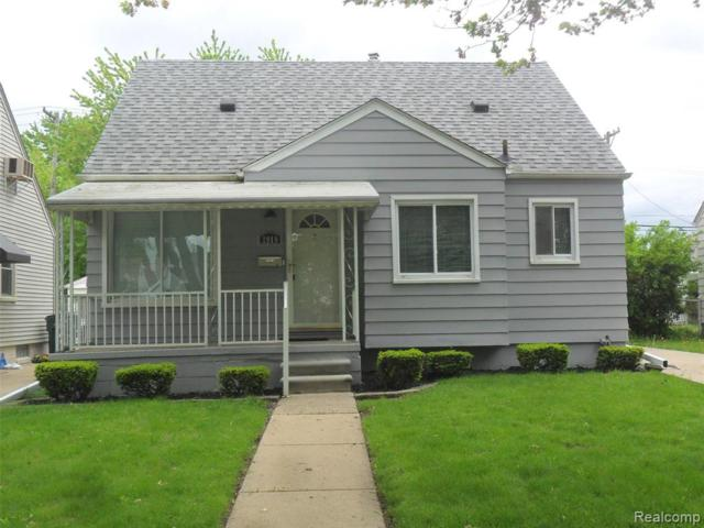 2919 Bailey Avenue, Lincoln Park, MI 48146 (MLS #219047176) :: The Toth Team