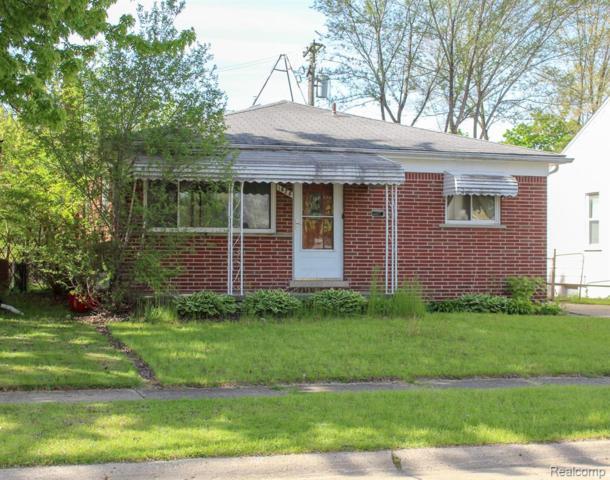 1828 E Milton Avenue, Hazel Park, MI 48030 (MLS #219047396) :: The Toth Team