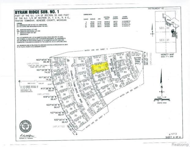 16512 Bedington, Fenton Twp, MI 48340 (#219047716) :: The Alex Nugent Team   Real Estate One